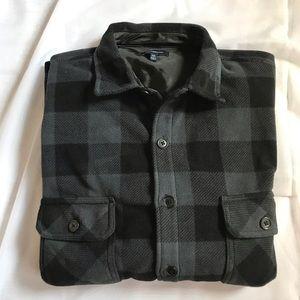 Croft & Barrow men's flannel shirt jacket XXL